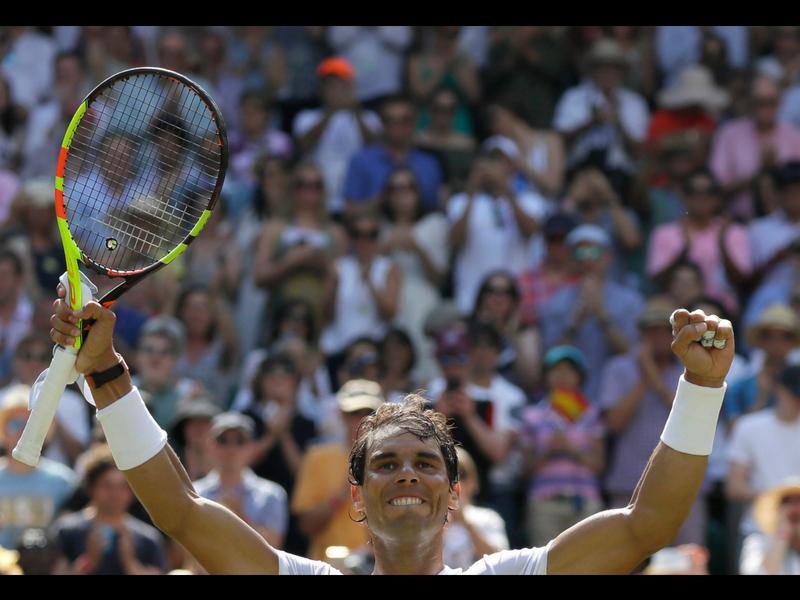Nadal regresa a cuartos de final en Wimbledon