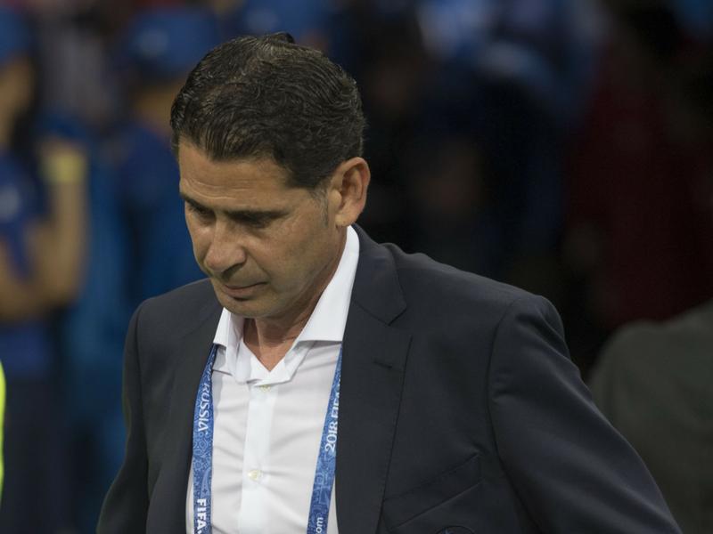 Fernando Hierro deja de ser entrenador de España