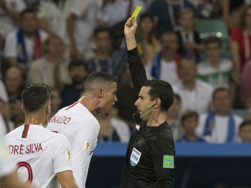 César Ramos explicó su 'charla' con Cristiano Ronaldo