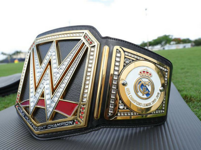 Real Madrid también campeón de la WWE