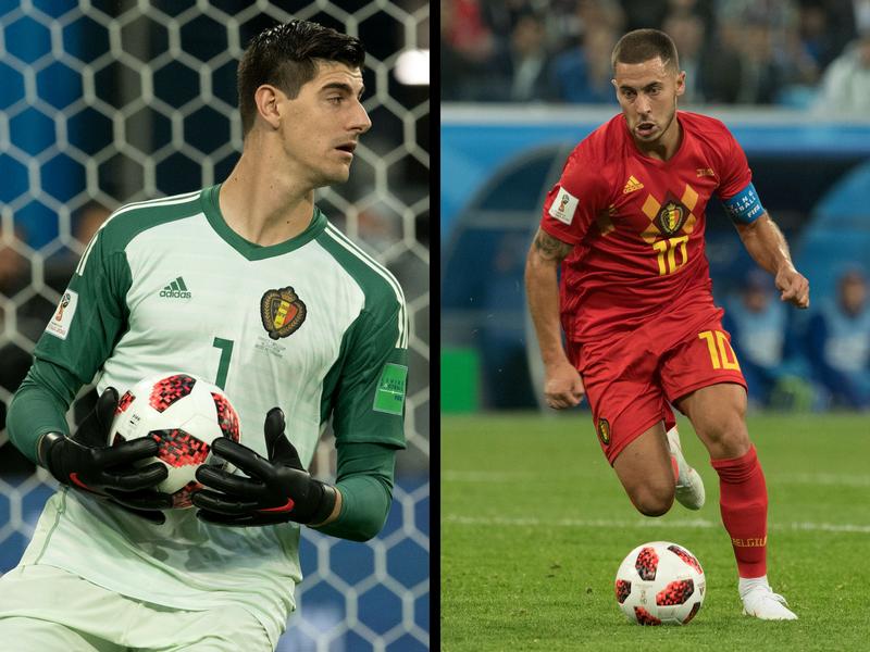Real Madrid va por dos estrellas belgas