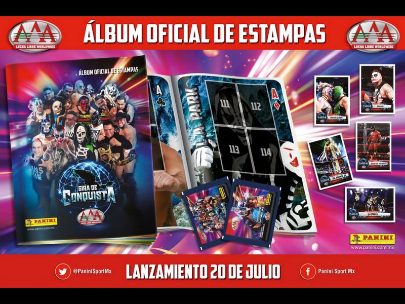 Lanzan álbum de Lucha Libre AAA