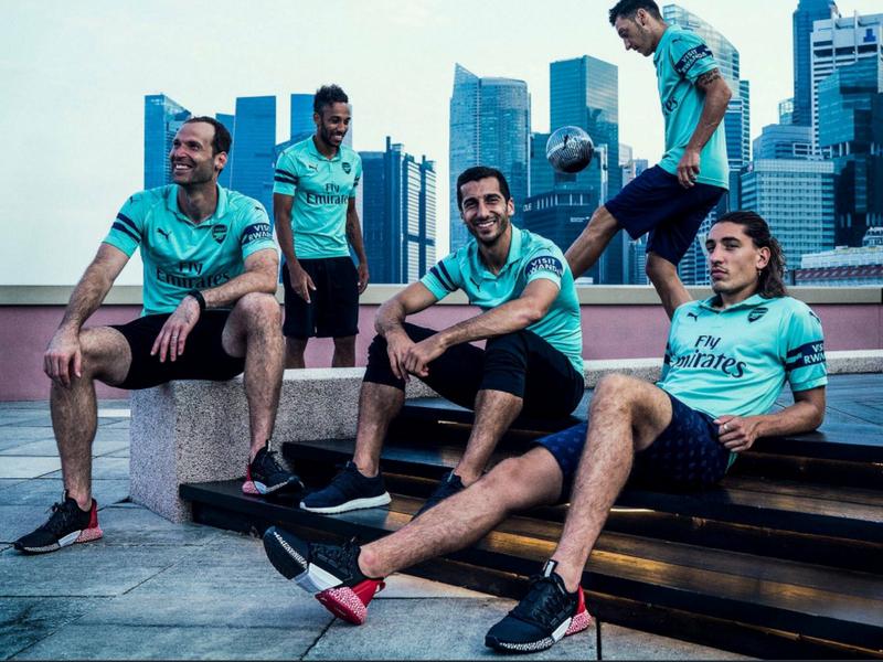 Arsenal presenta inédito tercer uniforme
