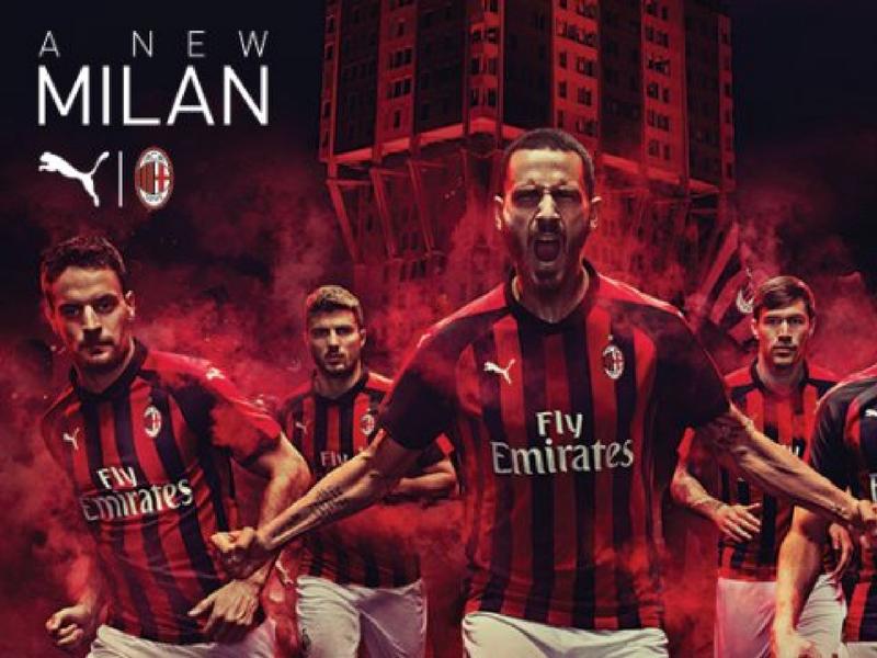 AC Milan presenta nuevo uniforme y patrocinador