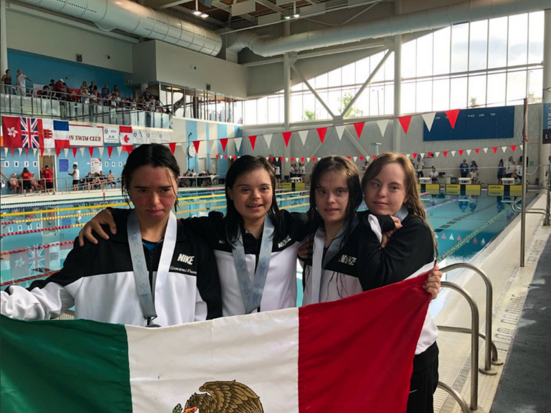 México, multimedallista en Mundial de Natación de personas con Síndrome de Down