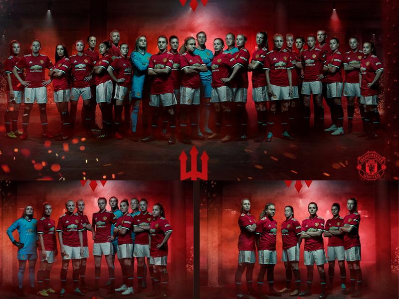 Manchester United presenta su nuevo equipo femenil