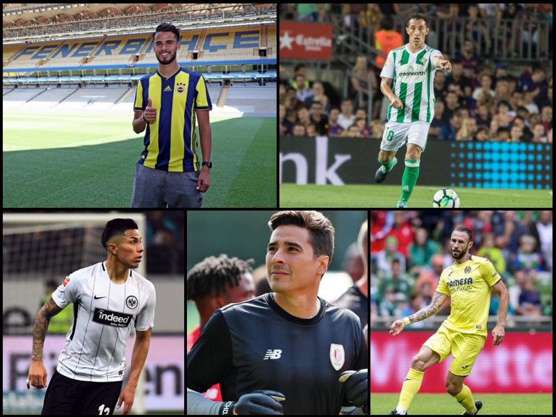 Los mexicanos que estarán en la Europa League 2018-19