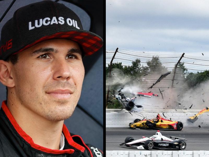 Piloto de IndyCar, en estado crítico tras accidente en Pocono