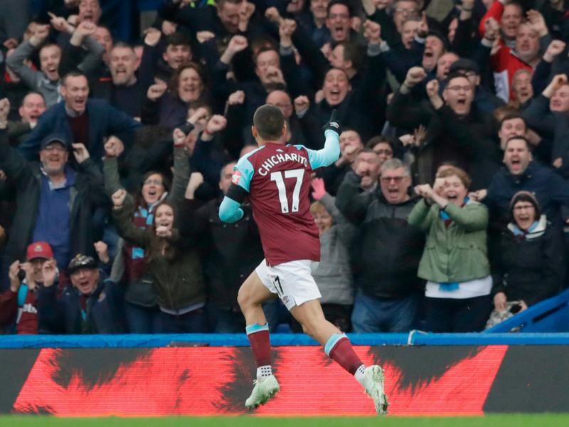 ¡Chicharito encendido! Así empezó la pretemporada con el West Ham