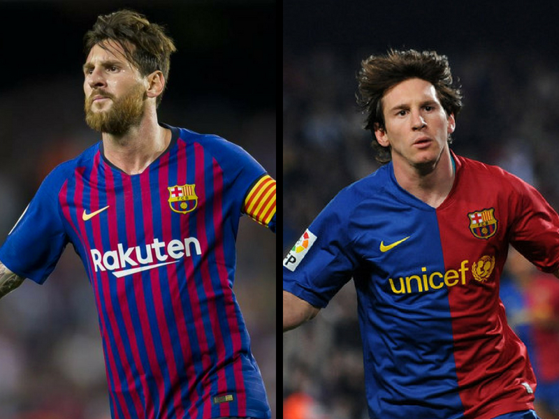 Messi, doblemente histórico