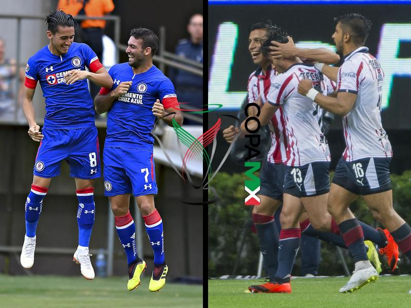 ¿A qué hora juegan Cruz Azul y Chivas en la Copa MX?