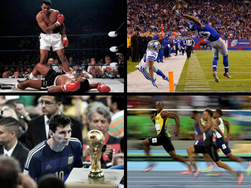 Las mejores fotografías del Deporte
