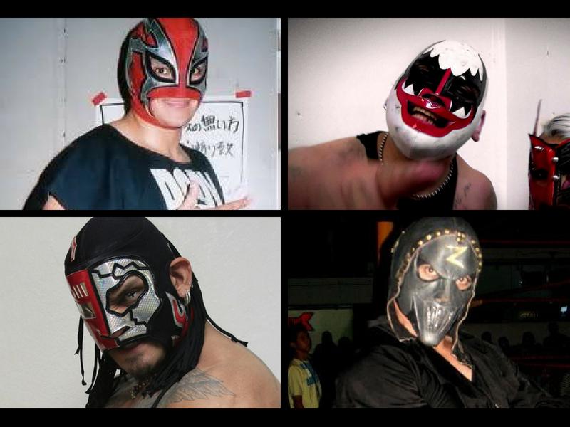 Luchadores que usaron máscara y tal vez no recuerdes