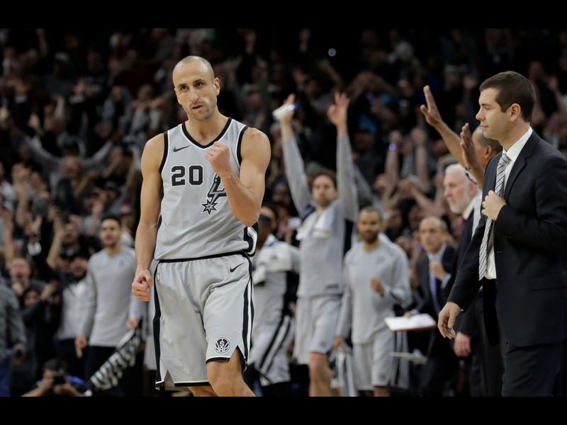Se retira un histórico de los Spurs