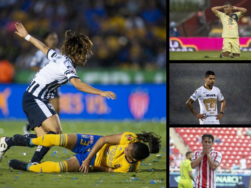 La Liga MX Femenil noquea a los 'grandes'