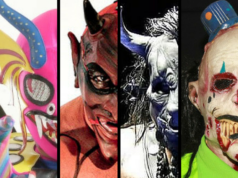 Las máscaras más extrañas de la Lucha Libre