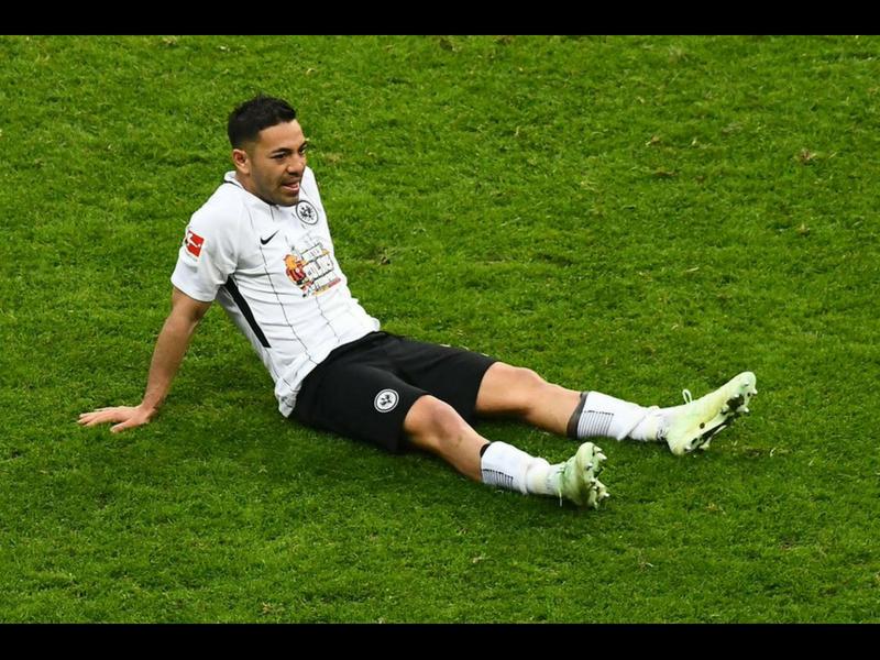 Marco Fabián se aleja del Frankfurt