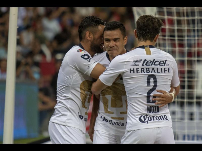¡Por fin! Pumas ganó en el Jalisco y rompe su maldición