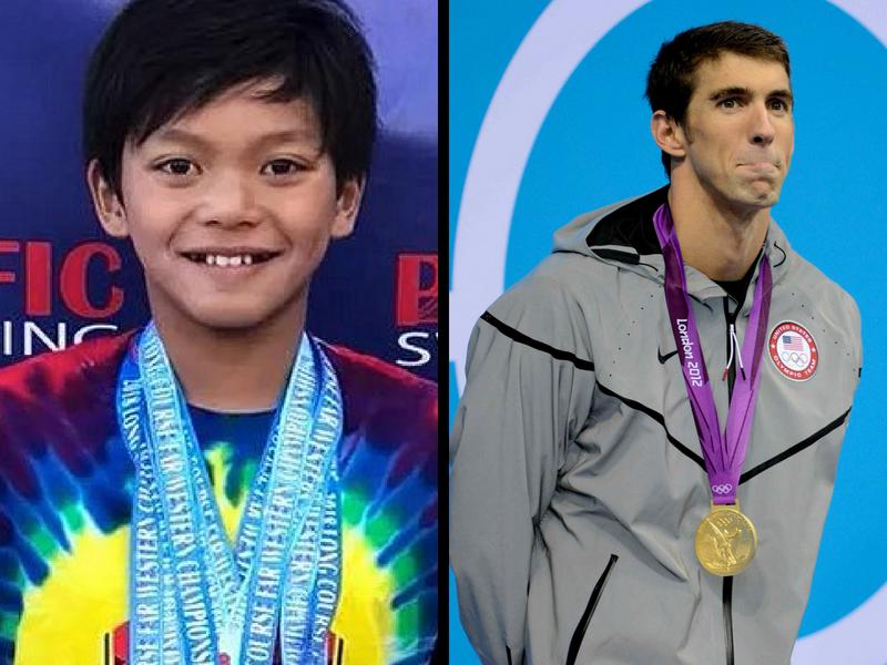 Clark Kent vence a Michael Phelps en la alberca