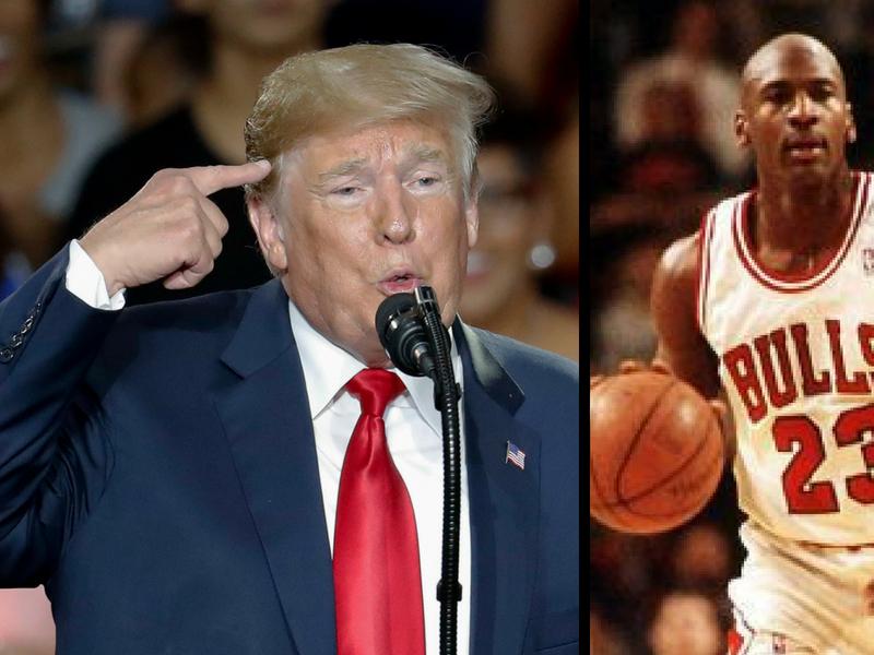 Michael Jordan vs Donald Trump