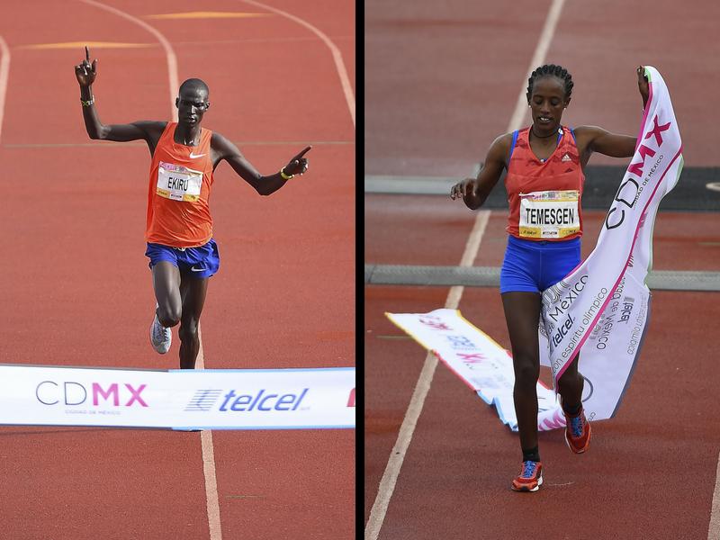 Rompen Récords del Maratón CDMX