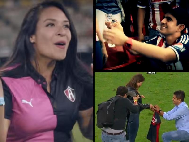 Ellos se juraron amor eterno en los Estadios mexicanos