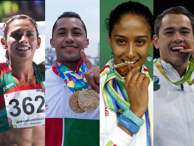 Deportistas que estarán en Exatlón 2018