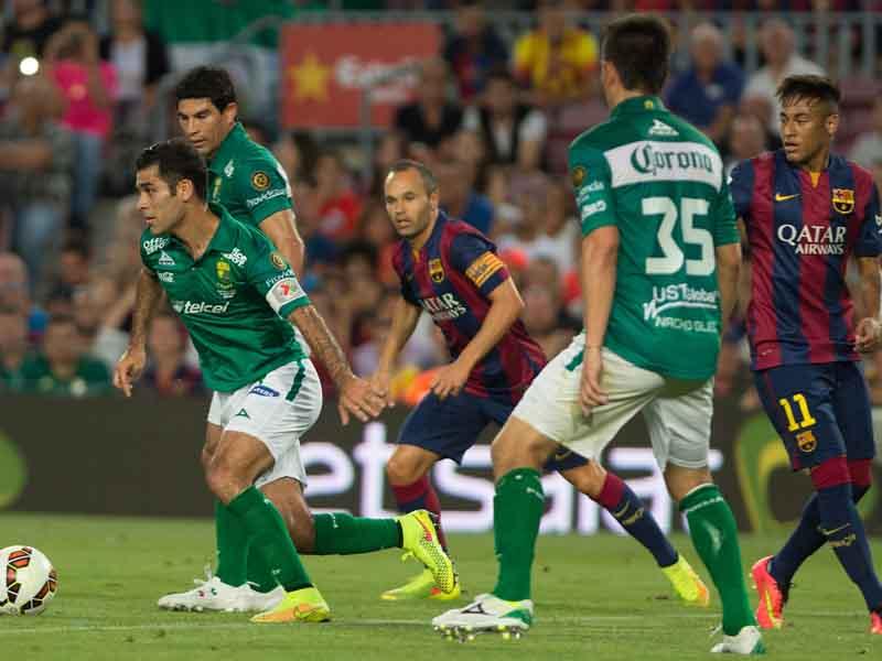 El día en que Barça goleó al León en el Joan Gamper