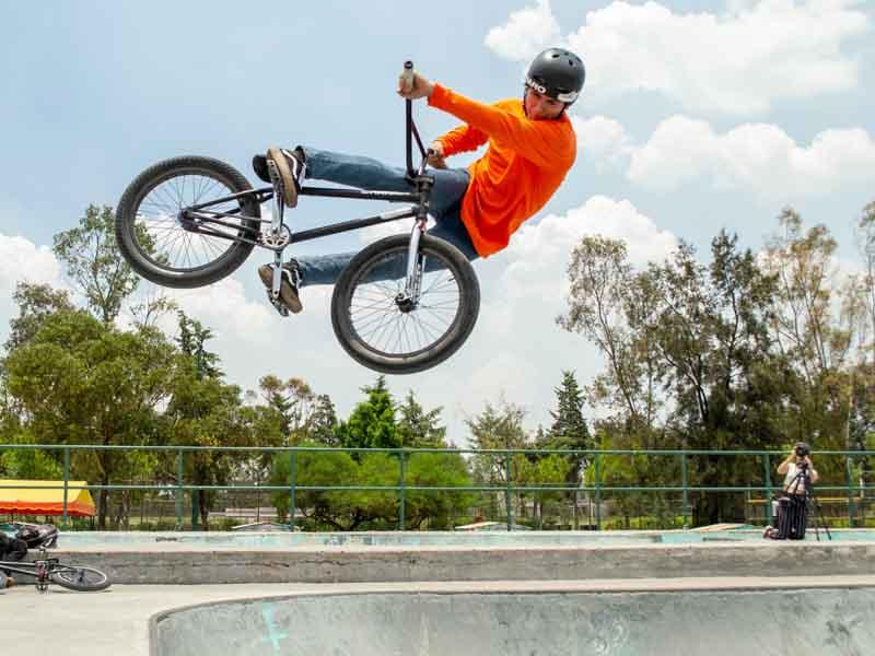 El nayarita del BMX que busca ir a Juegos Olímpicos