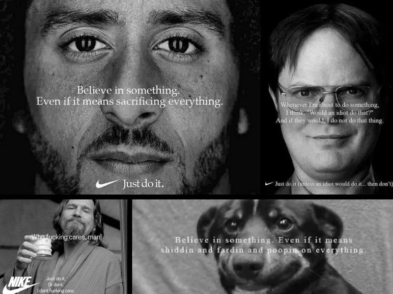 Kaepernick desata oleada de memes, por campaña de Nike