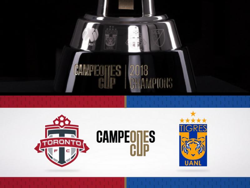 Revelan trofeo para la Campeones Cup