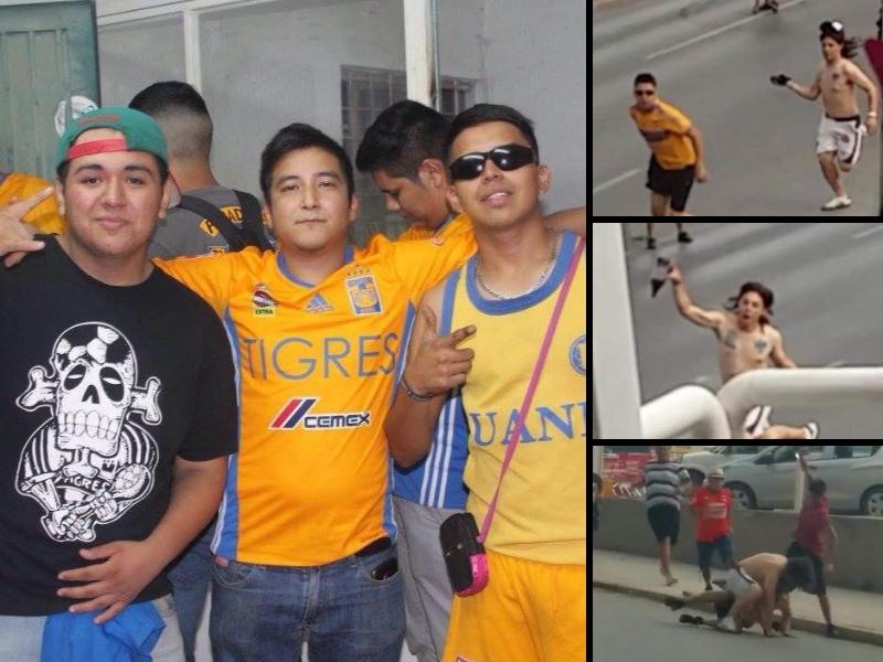 Aficionado de Tigres agredido lucha por su vida