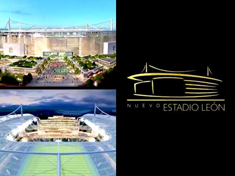 VIDEO: El nuevo y revolucionario Estadio de León