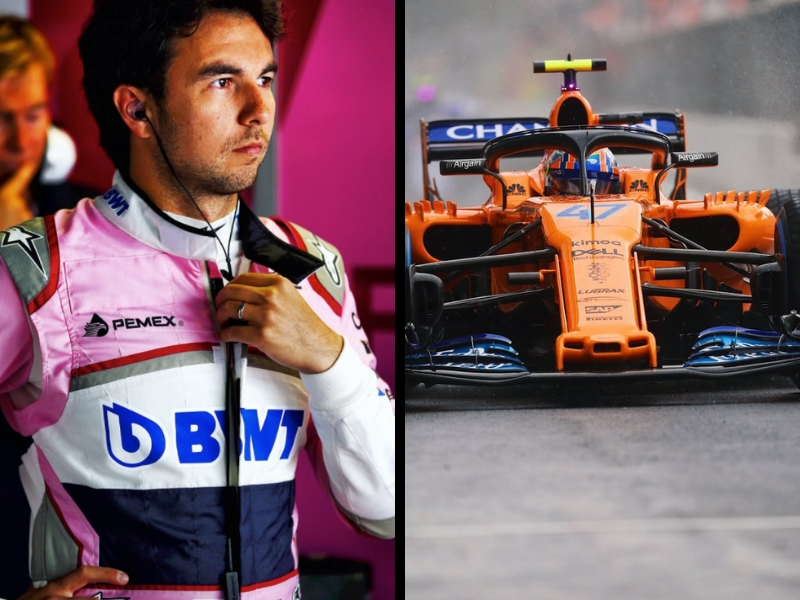 OFICIAL. 'Checo' Pérez no irá a McLaren