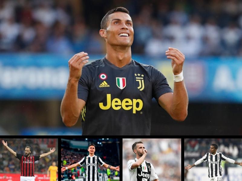 Los 10 mejores pagados en la Serie A