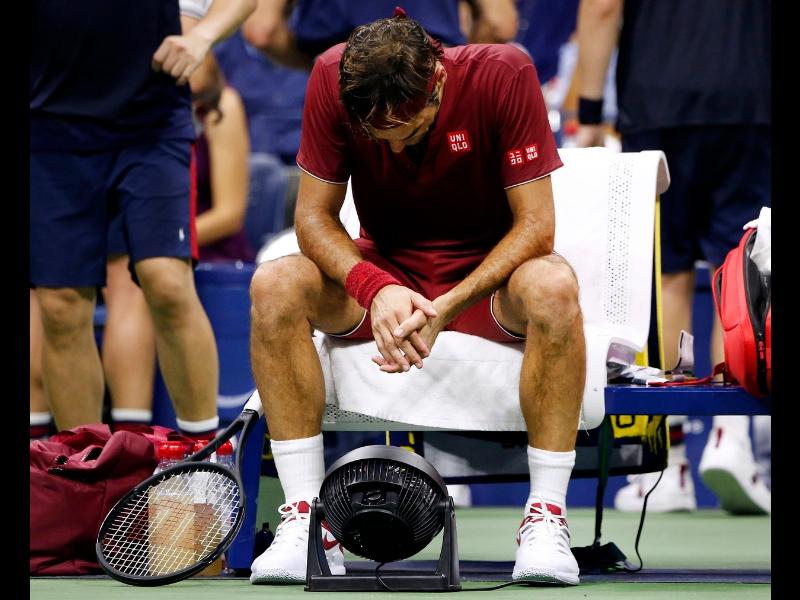 La maldición que persigue a Roger Federer