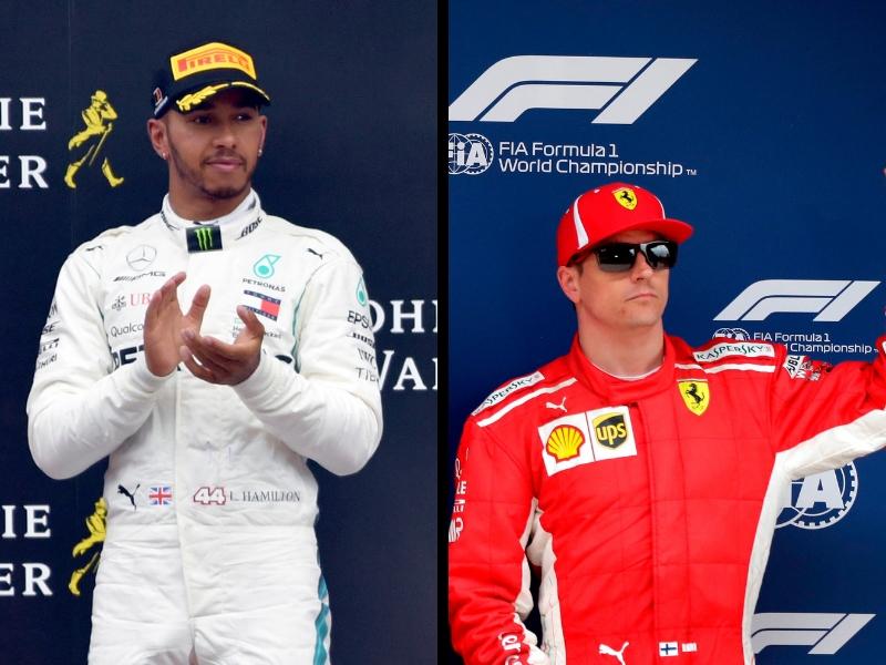 Hamilton anticipa el adiós de Raikkonen