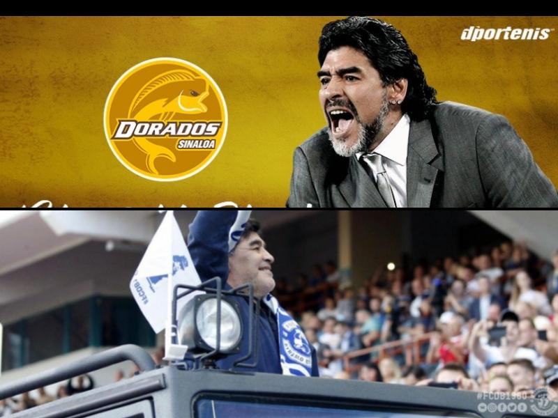 Maradona llegó a Dorados con contrato vigente en Bielorrusia