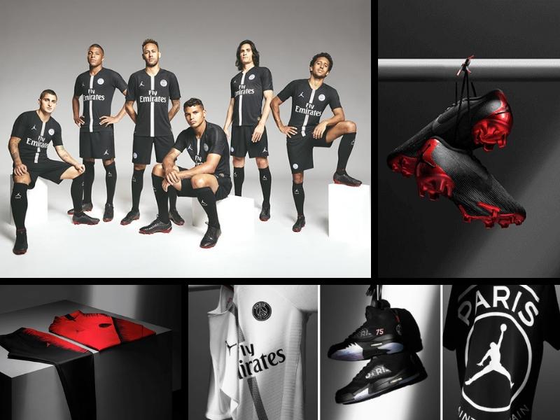 PSG presenta colección completa de Air Jordan