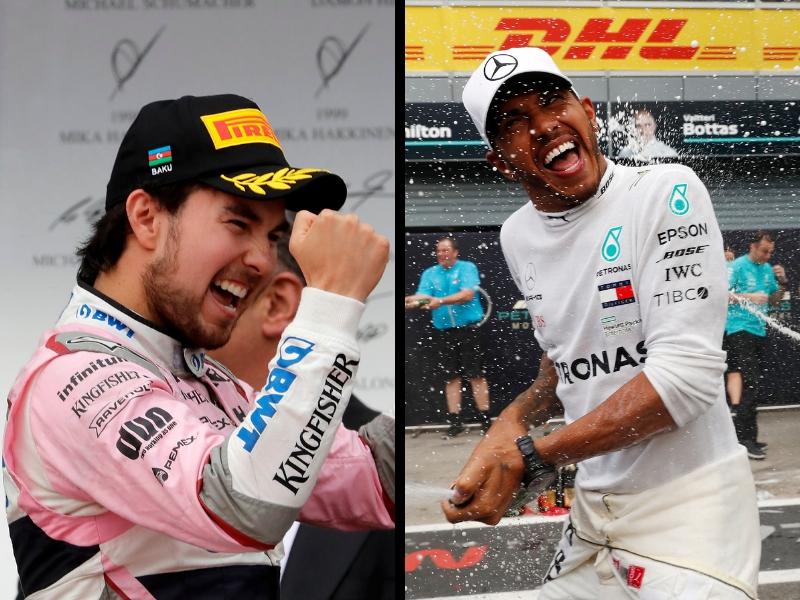 'Checo' Pérez hace historia en el GP de Singapur