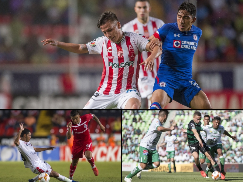 3 equipos libran obligación de alinear mexicanos