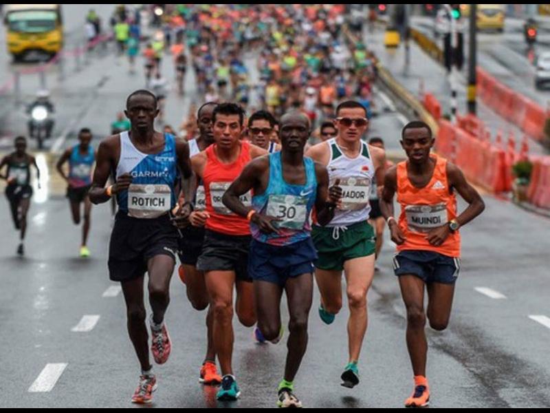 Tragedias en medio maratón de Medellín