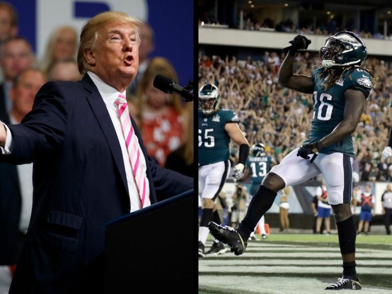 Trump arremete contra el inicio de la NFL