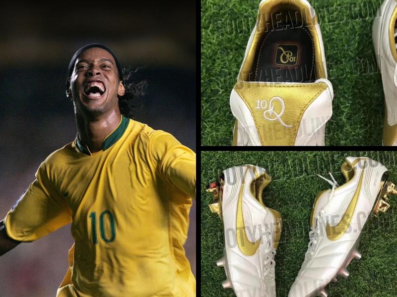 Tachones edición especial de Ronaldinho