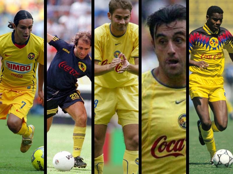 Cinco jugadores del América que no recordabas en un Clásico