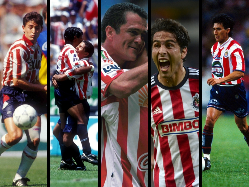 Cinco jugadores de Chivas que no recordabas en un Clásico