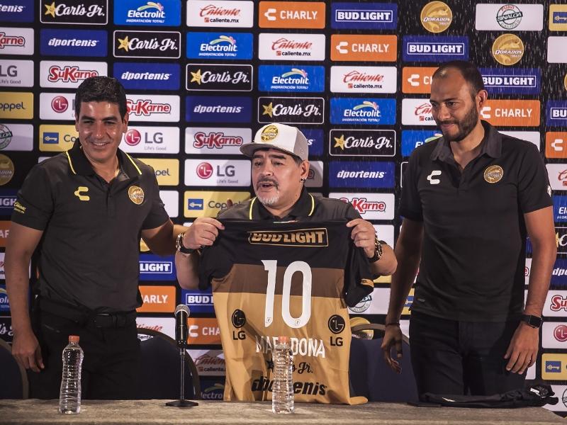 """Maradona: """"No vengo de vacaciones a Dorados"""""""