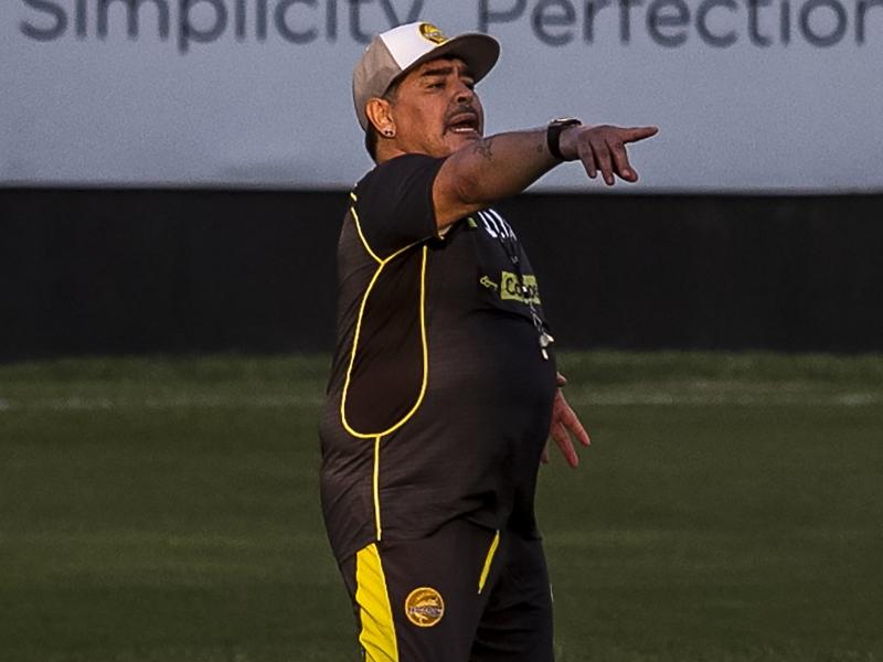 El día que Maradona felicitó a AMLO