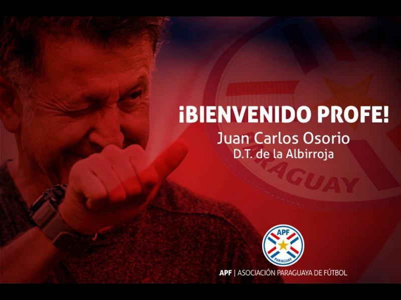 Paraguay, la nueva víctima de las rotaciones de Osorio