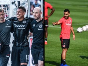 ¡Sin mexicanos! Frankfurt da su lista para Europa League